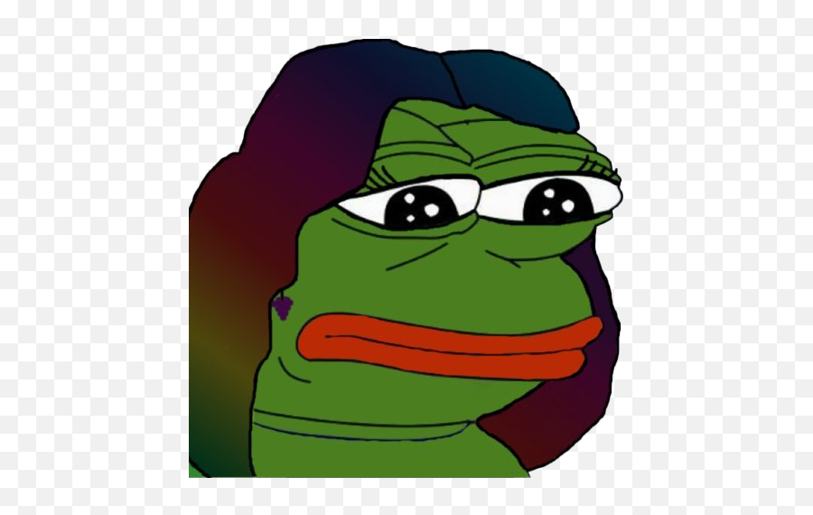 Sad Pepe The Frog Meme Transparent Png - Pepe Frog Stickers