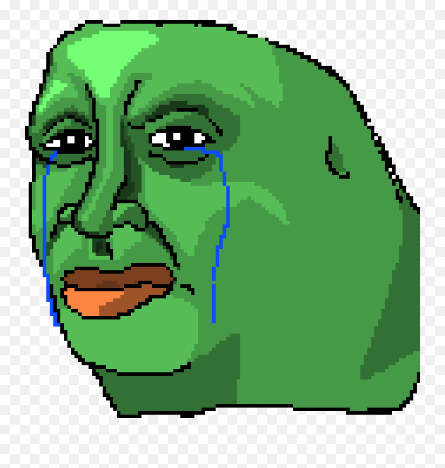 Sad Pepe The Frog Transparent Images - Transparent Sad Pepe Png
