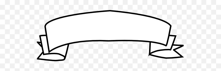 Orange Banner Blue Clip Art - Vector Clip Art Black And White White Banner Png,White Banner Png