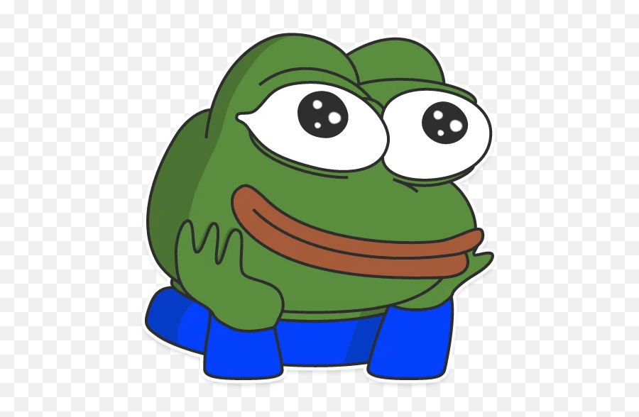 Pepe The Frog Telegram Sticker Decal - Pepe Sticker png
