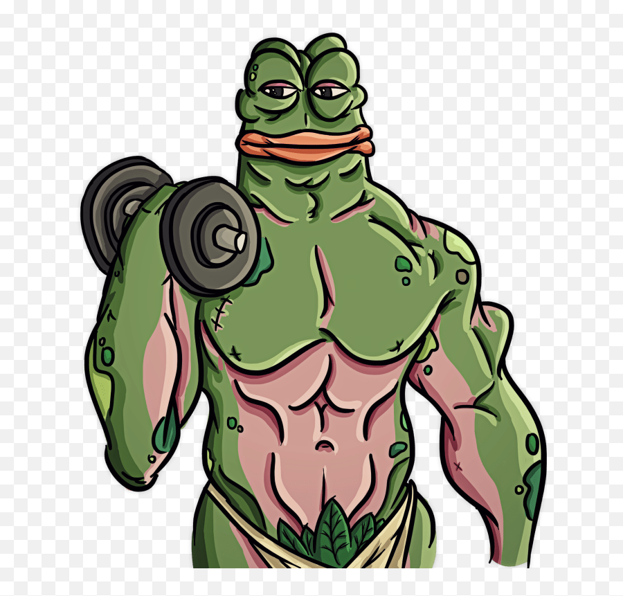 Pepe Vector Transparent Png Clipart - Rare Pepe Transparent
