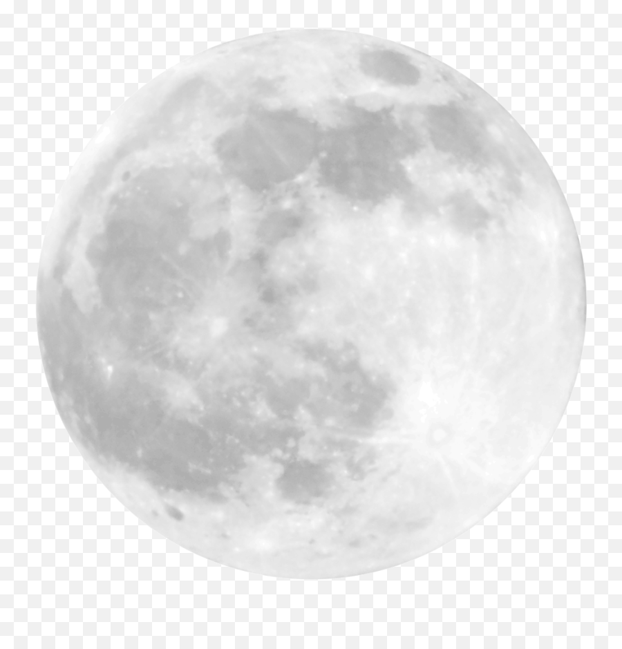 Moon Png Image - Full Moon Vector Png,Moon With Transparent Background