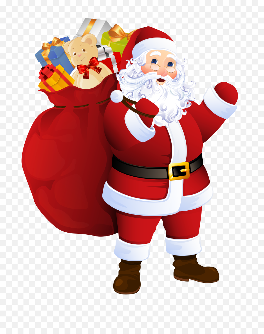 santa claus with gifts bag png image free transparent png transparent background santa claus png free transparent png images pngaaa com santa claus with gifts bag png image