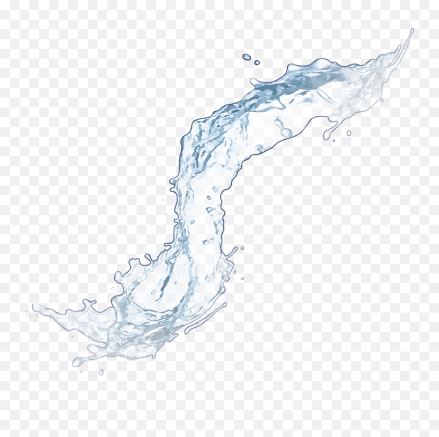 Water Splash Png - Real Water Splash Png,Water Effect Png