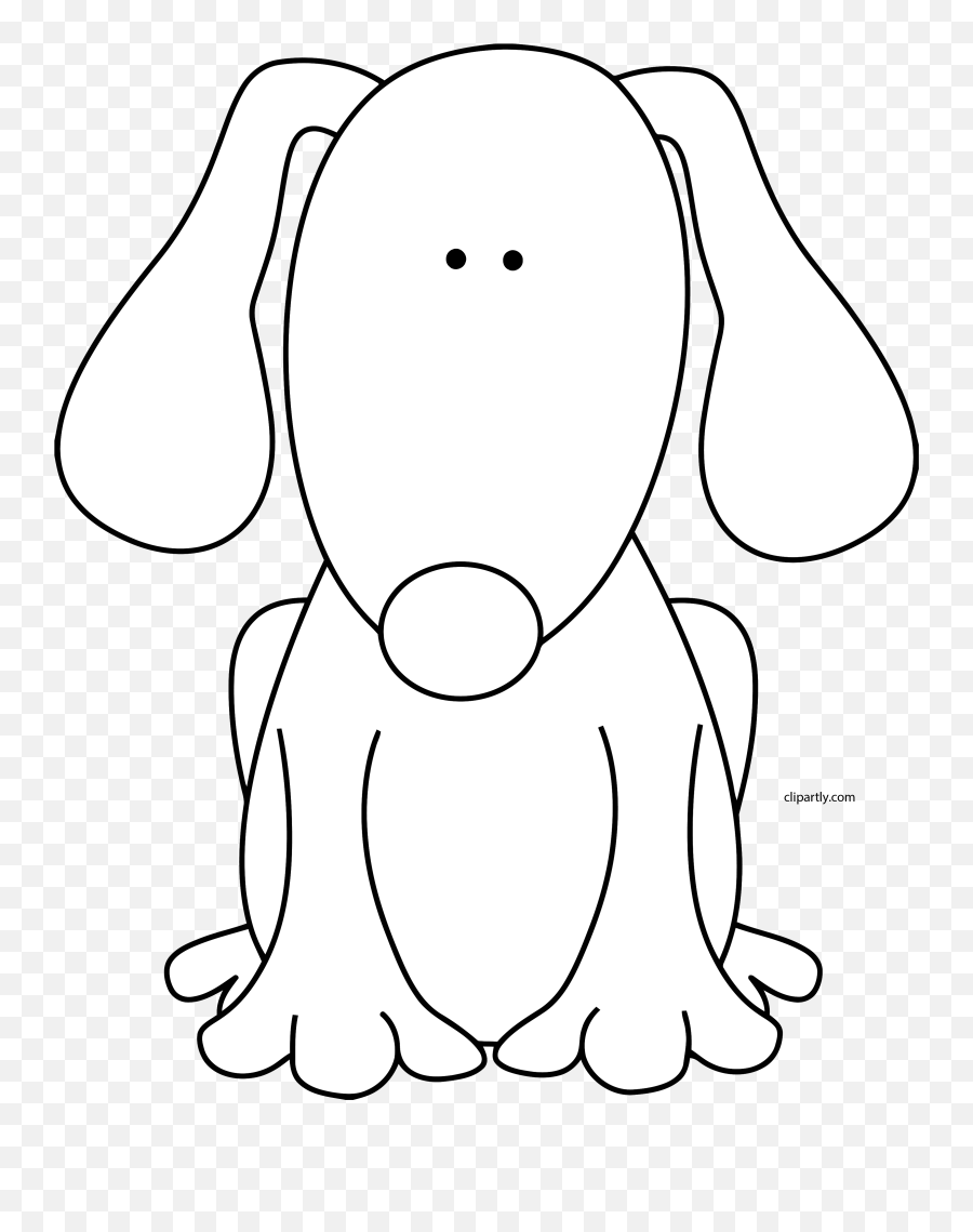 Dog Black White Clipart Png Dog Clipart Png Black And My Cute Graphics Dog Clipart Dog Clipart Png Free Transparent Png Images Pngaaa Com