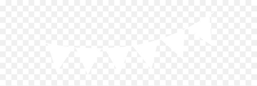 Bunting Vector Black - White Bunting Banner Png Full Size White Bunting Flag Png,White Banner Png