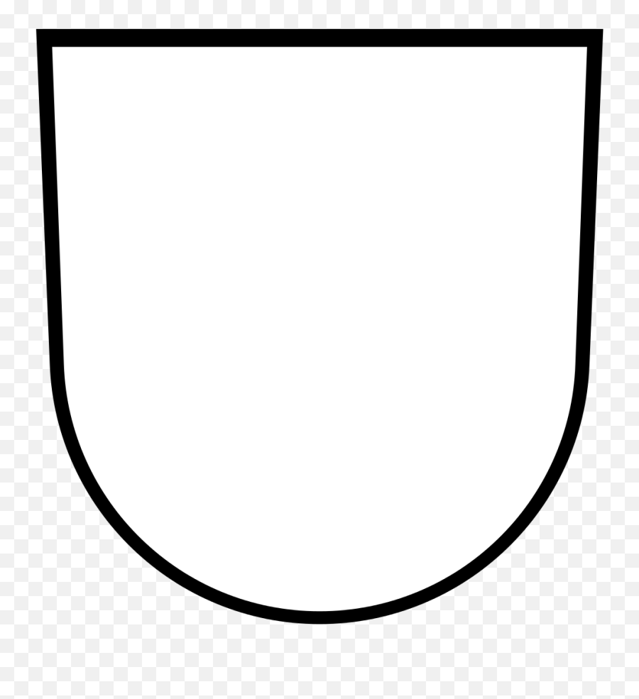 Banner Vorlage Clipart - Blank Heraldic Shield Png,Youtube Banner Template Png