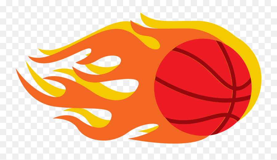 Free Basketball - For Basketball,Red Fire Png