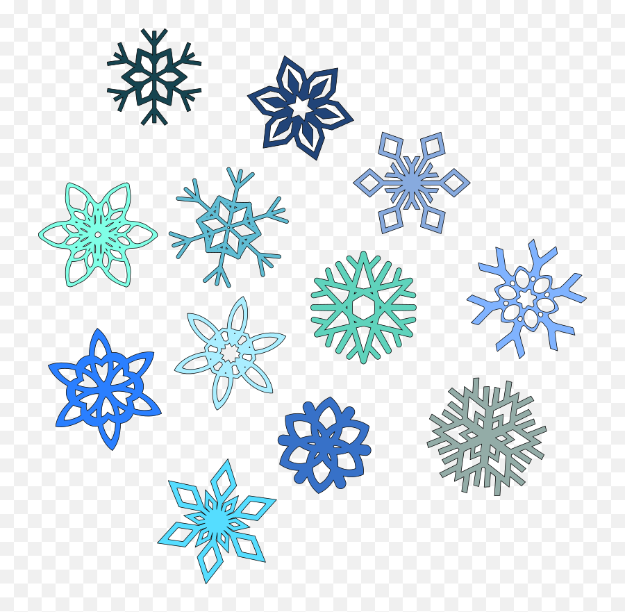 Library Of Falling Snowflake Png Royalty Free Download - Snowflake Clipart Transparent Background,Falling Snow Transparent Background
