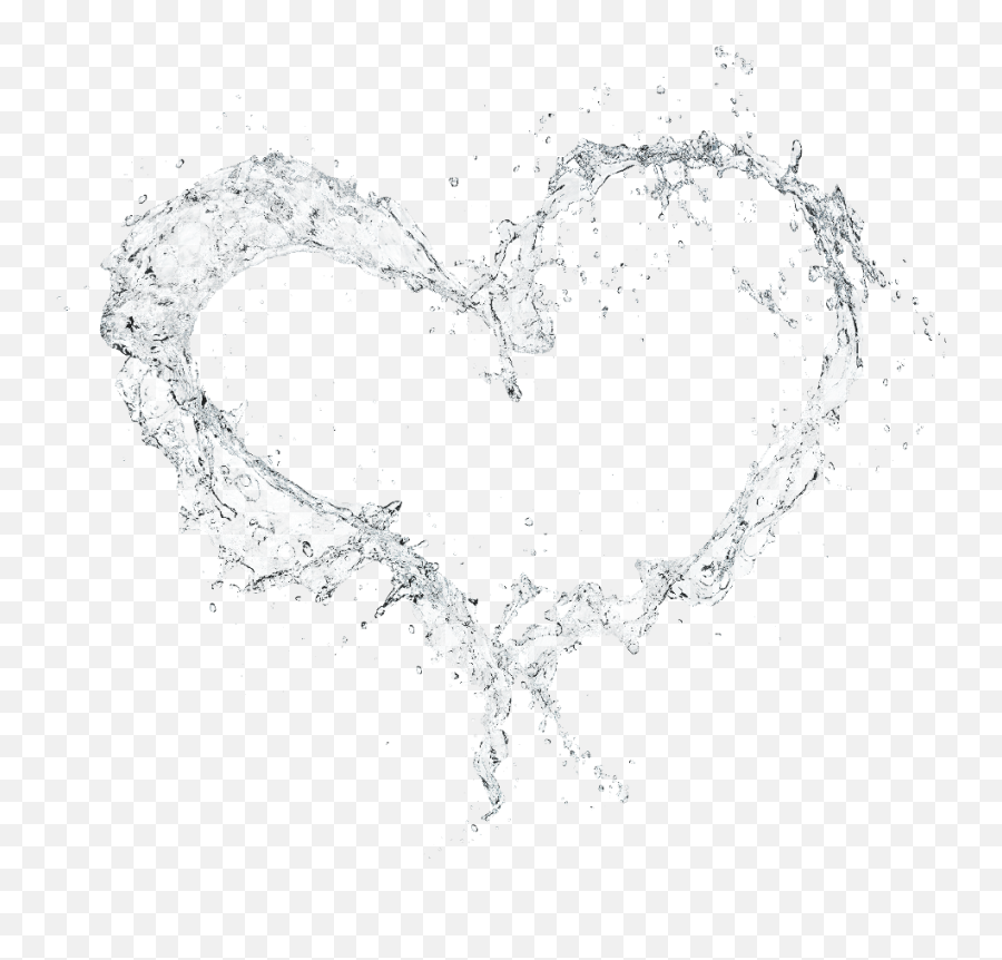 Water - Transparent Background Water Splash Heart Png,Water Effect Png