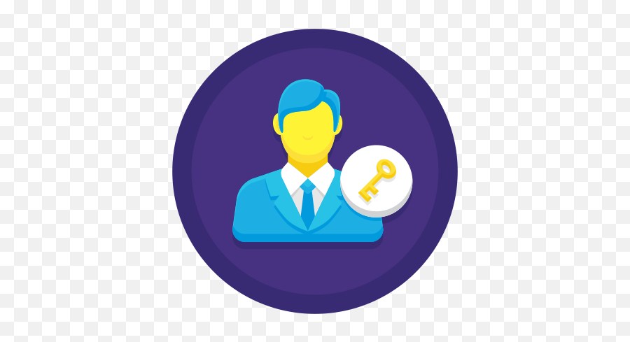 Key Person Icon Png Free Pik Aesthetic - Worker,App Store Icon Aesthetic