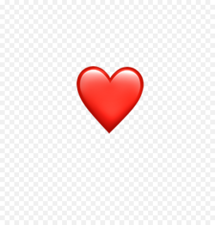Iphone Emoji Iphoneemoji Heart Red   Small Red Heart Emoji png ...