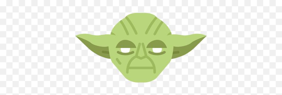 Jedi Master Starwars Yoda Icon - Star Wars Yoda Emoji png - free transparent png images - pngaaa.com