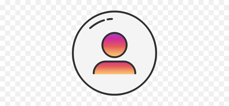 Instagram User Profile Person Icon - User Instagram png