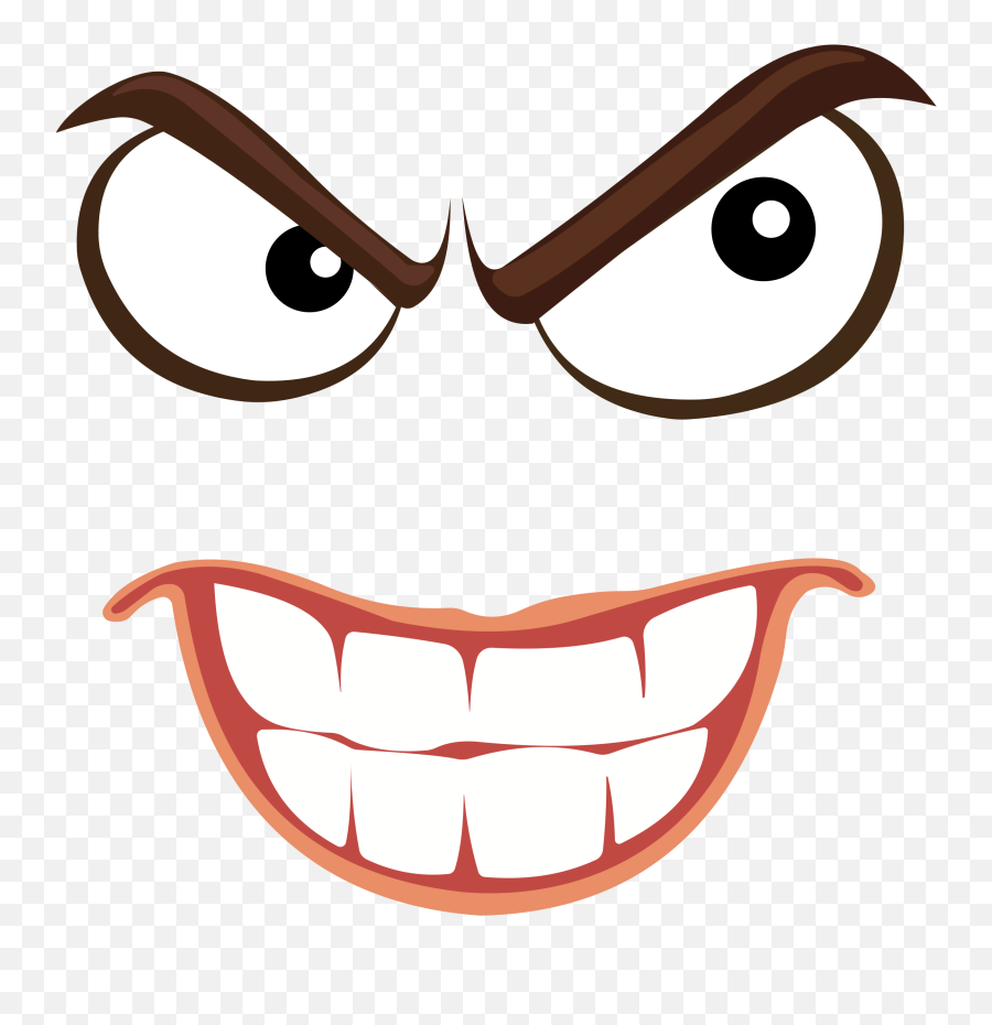 View Angry Face Png Transparent JPG