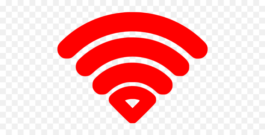 Red Wifi Icon - Green Wifi Logo Transparent png
