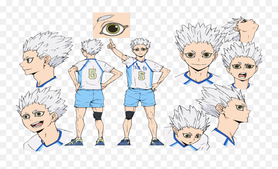 S4 Reveals New Character Designs - Hoshiumi Kourai png