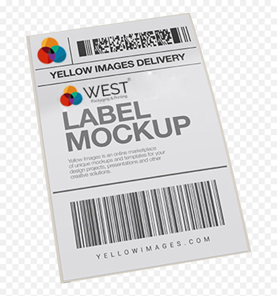 Download Mailing Labels West Printer Shipping Label Mockup Psd Png Free Transparent Png Images Pngaaa Com PSD Mockup Templates