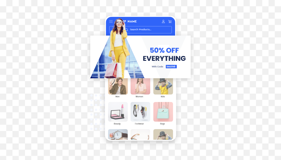 App Store Design Add - On By Appmysite Introduction And For Women Png,App Store Icon Aesthetic