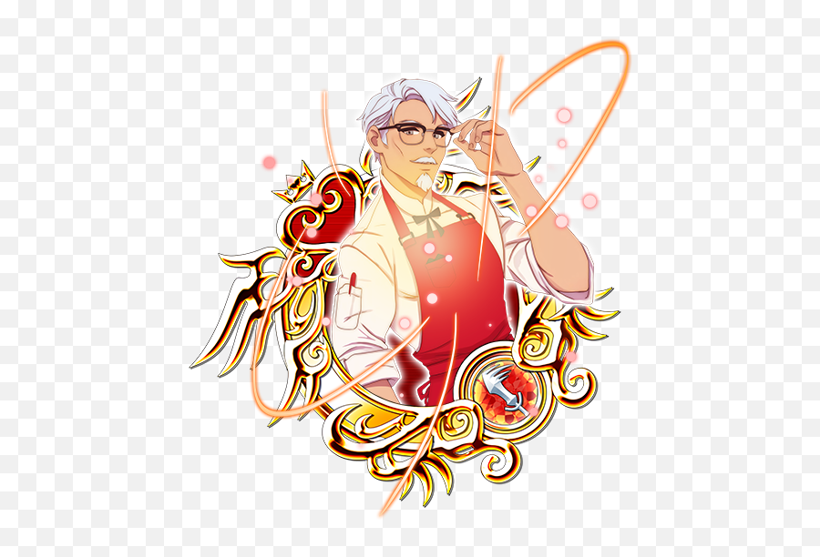 Youu0027ve Gotta See Kfcu0027s Incredibly Handsome Col Sandersso - Kingdom Hearts The Boy In White Png,Kfc Logo Transparent