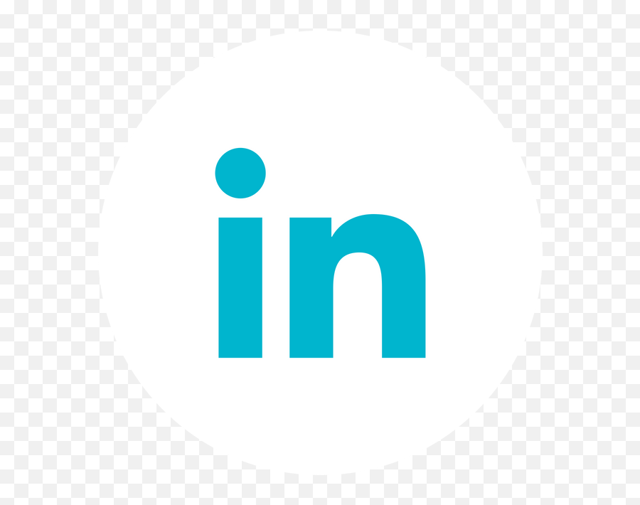 Linkedin Icon White Png - Facebook Icon Small Twitter Icon  Circle