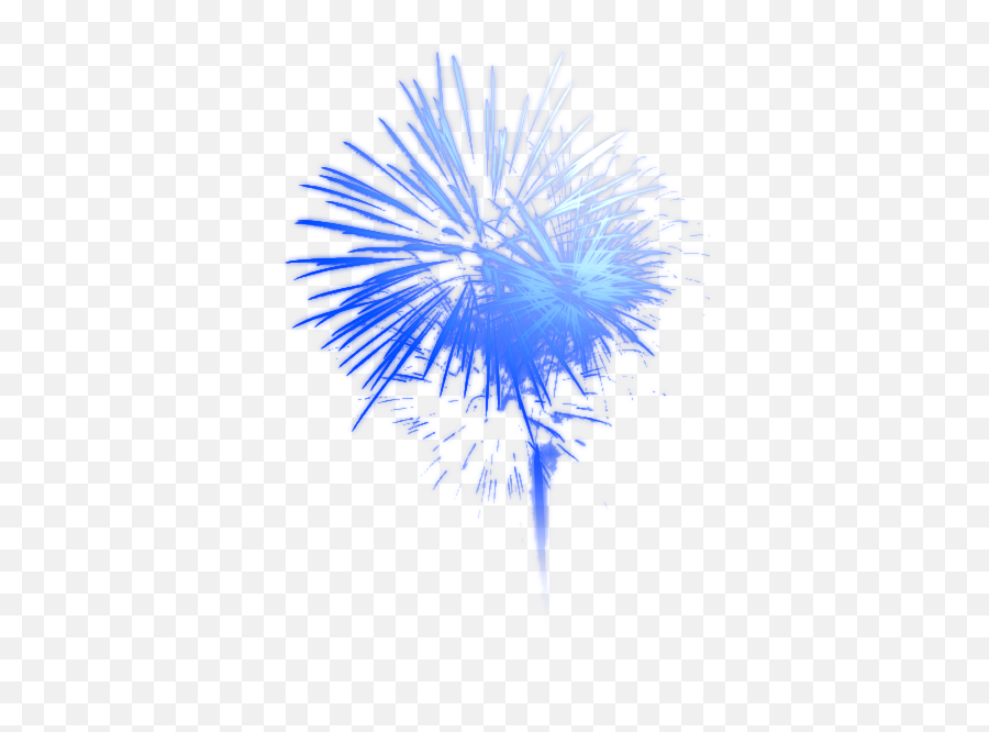 Fireworks Download High Quality Png 30623 - Free Icons and  Transparent Background Blue Firework