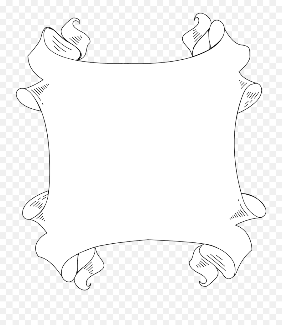 White Blank Banner Png - Clip Art,Blank Banner Png