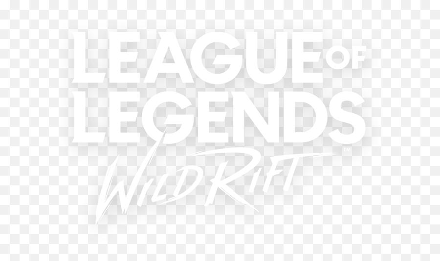 Lol Wild Rift Logo Png - Logo League Of Legends Wild Rift