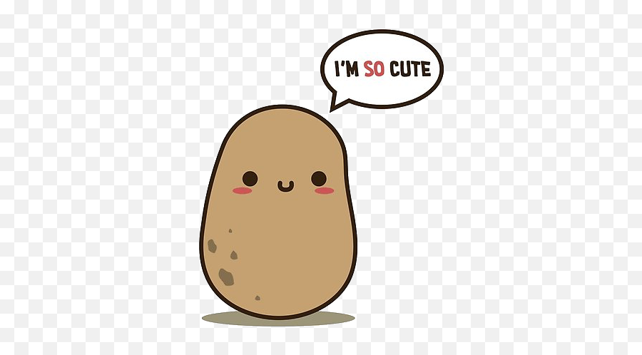 Kawaii Potato Meme