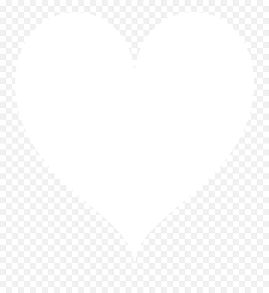 Instagram Heart Icon White - Heart png