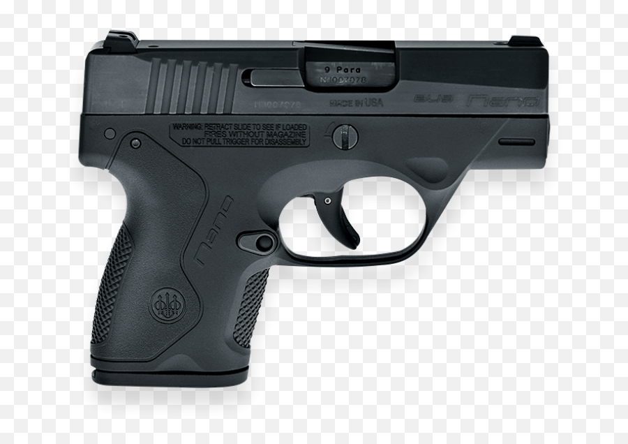 Download Bu9 Nano Pistol Mm Black - Sig Sauer P290rs 9mm png
