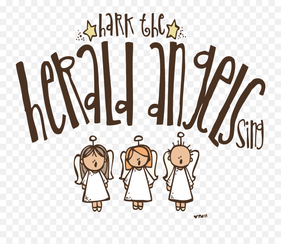 Angels Singing Transparent U0026 Png Clipart Free Download Ywd Hark The Herald Angels Sing Clip Art Singing Png Free Transparent Png Images Pngaaa Com