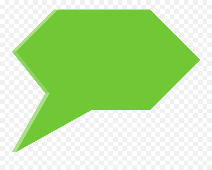 3d Speech Bubble Transparent - Speech Bubble Png Transparent Green