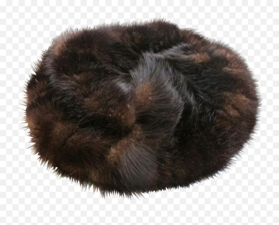 Vintage Schiaparelli Russian Fur Hat - Fur Hat Png