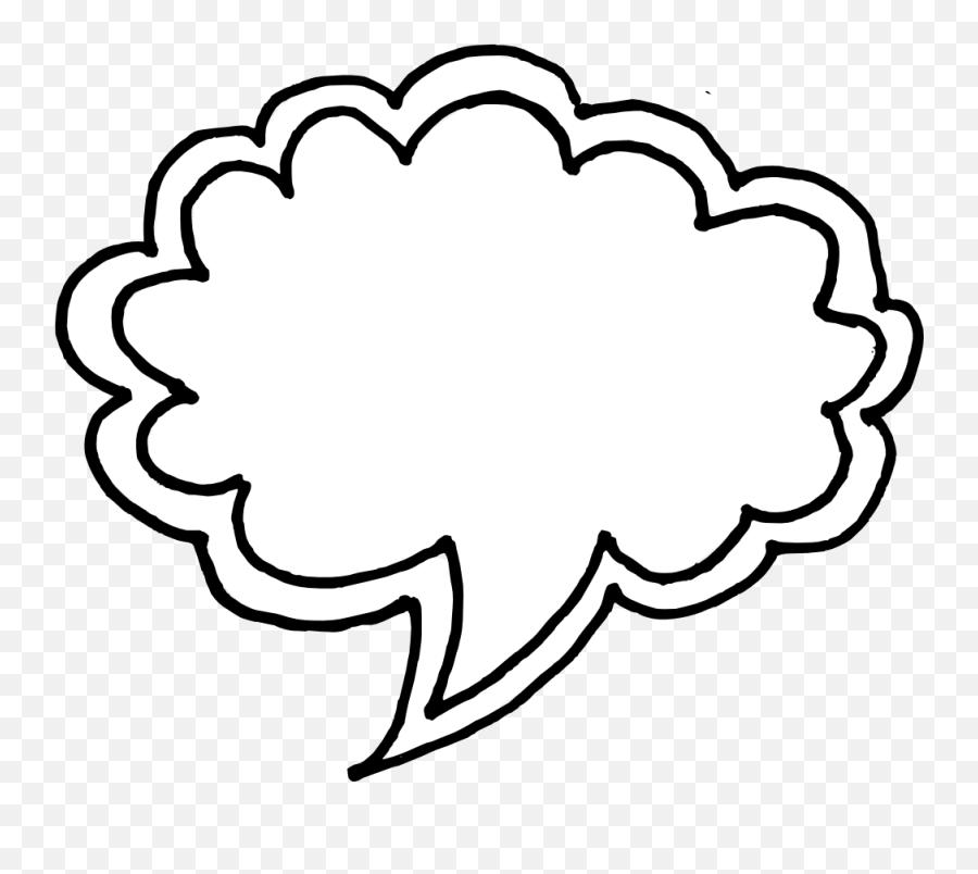 50 Hand Drawn Comic Speech Bubbles - Hand Drawn Speech Bubble Png