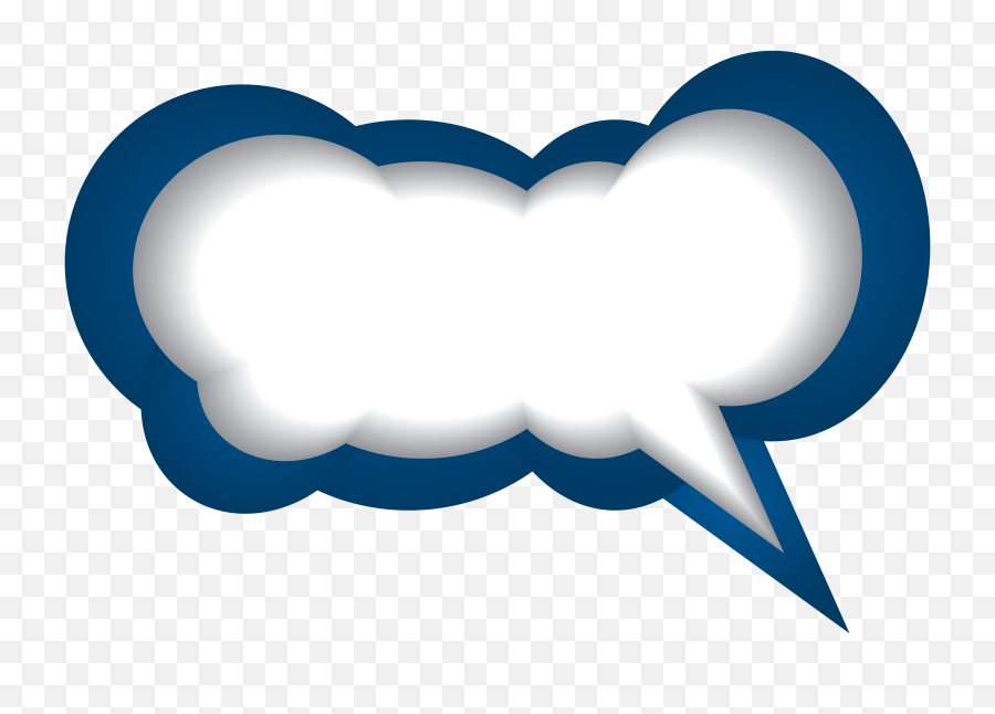 Speech Bubble Png Transparent Picture - Transparent Red Text Bubble