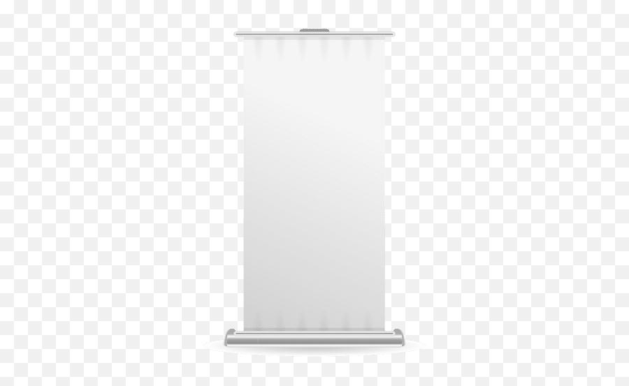 Blank Roller Banner Front View - Transparent Png U0026 Svg Emty Roll Up Banner Stand Png,Hanging Banner Png