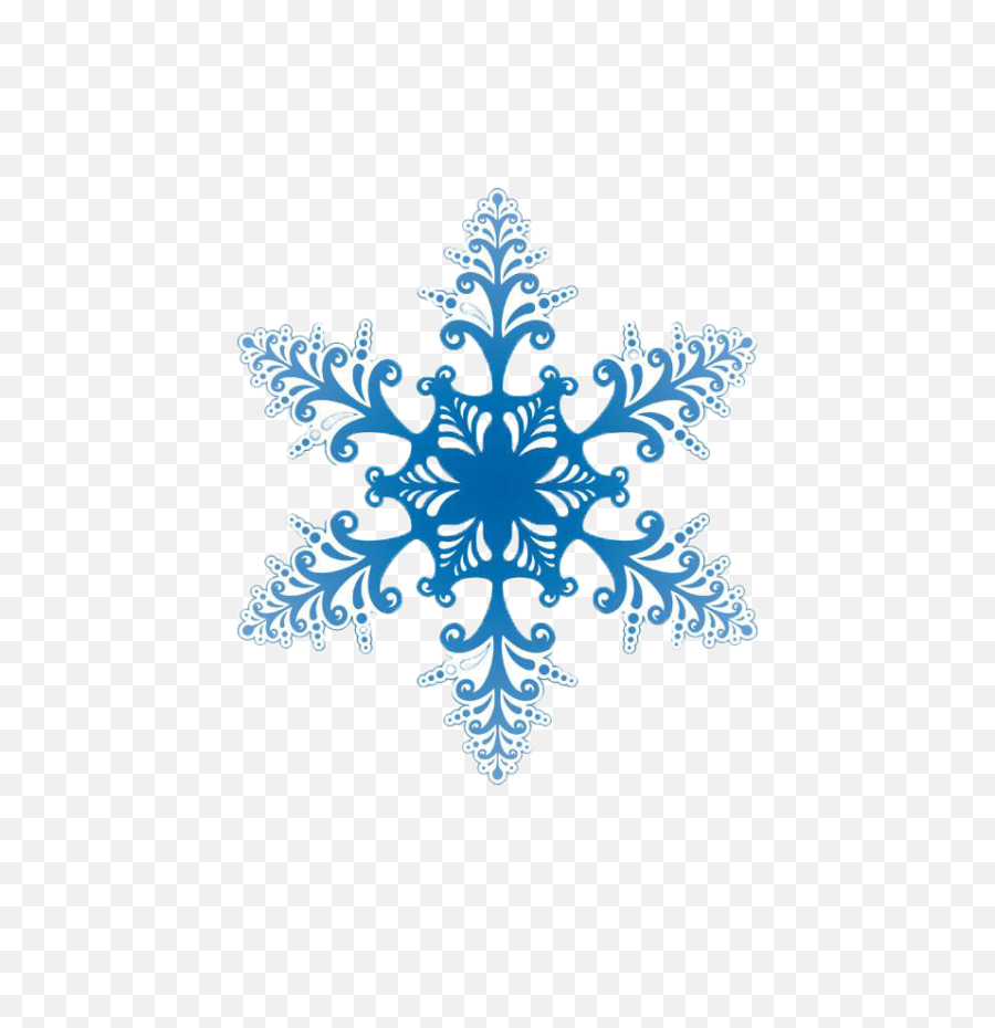 Snow - File  O  Snow2  Transparent Snowflakes Vector Png  Snowflake Transparent Background