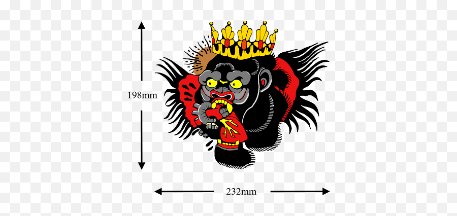 Conor Mcgregor Gorilla Temporary Tattoo Chest Conor Mcgregor Tattoo Png Free Transparent Png Images Pngaaa Com