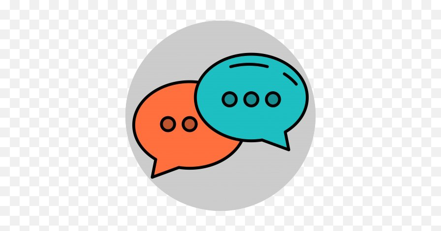 Chat Logo Png Free Download - Icon Conversation