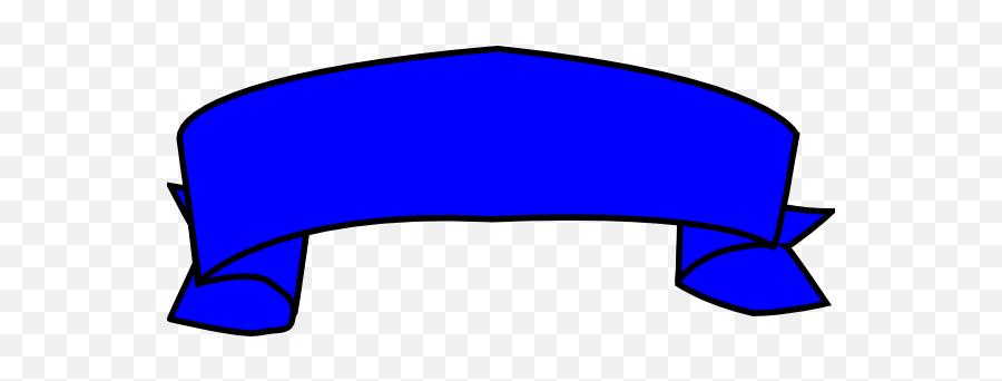 Blue Banner Clip Art - Purple Ribbon Banner Transparent Png,Blank Banner Png
