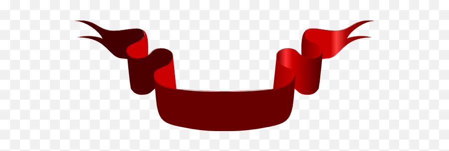 Blank Logo Banner Png Image - Red Ribbon Banner Large,Blank Banner Png