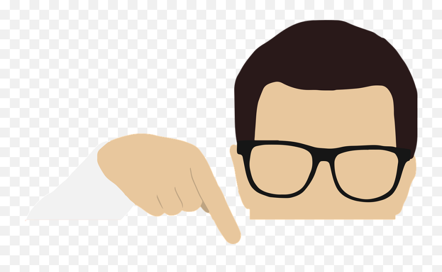Man Pointing Blank - Free Vector Graphic On Pixabay Imagen De Muñeco Señalando Png,Blank Banner Png