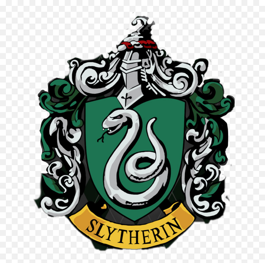 Download Slytherin Crest Png - Harry Potter Slytherin Logo  Printable Harry Potter House Crests