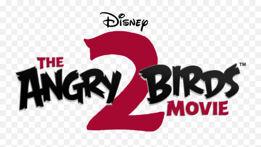 Angry Birds Logo Png Free Download - Disney The Angry Birds Movie 2