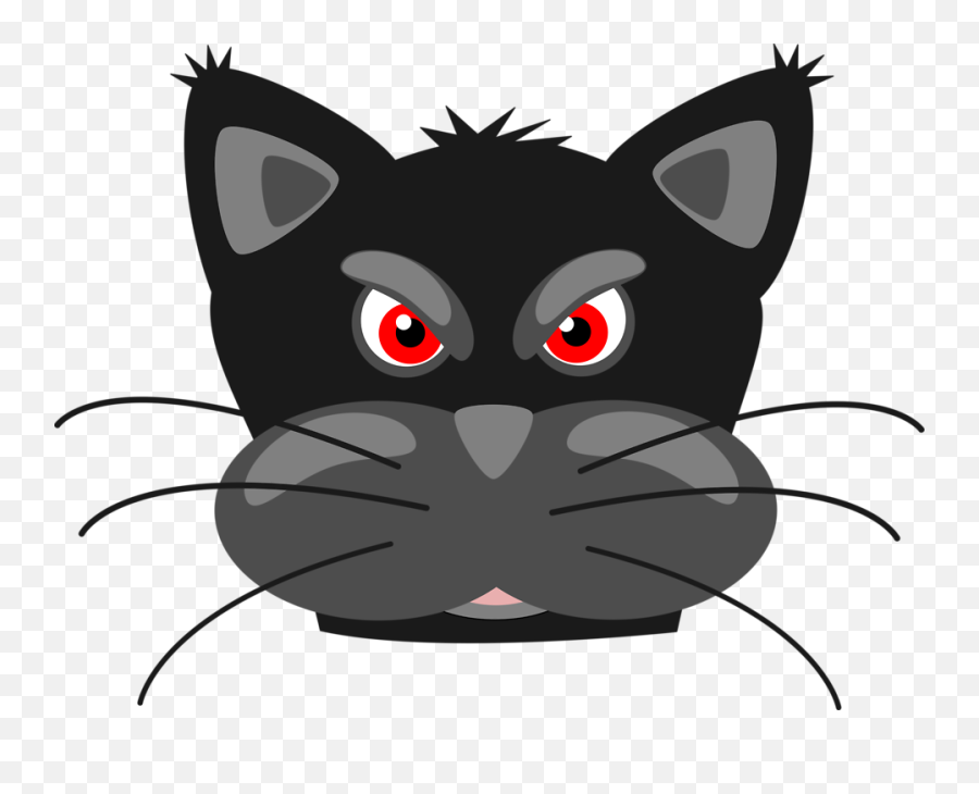 Angry Black Panther Clip Art - Cartoon Clipart Panther Png,Black Panther Head Png