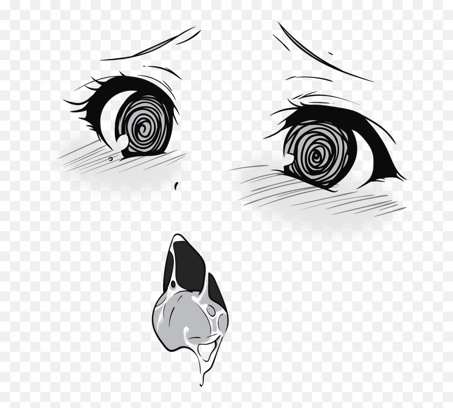 Pin - Ahegao Face Transparent Background png
