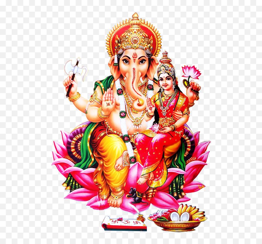 Lord Vinayaka Hd Png Image Free - Ganesha Lakshmi,God Png