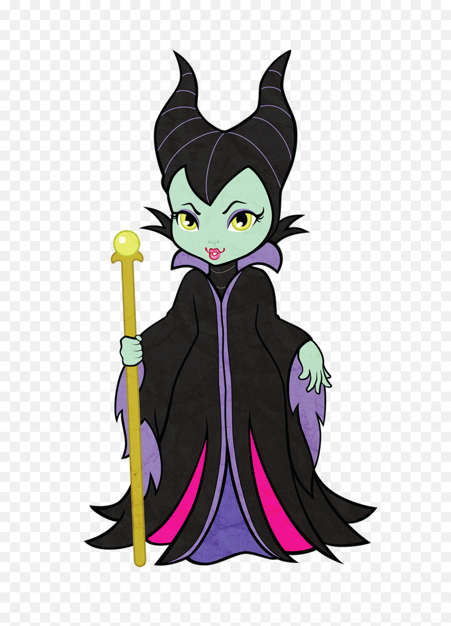 Download Maleficent Vector Transparent Clipart Royalty Free - Cute Maleficent Cartoon Png,Royalty Free Transparent Images
