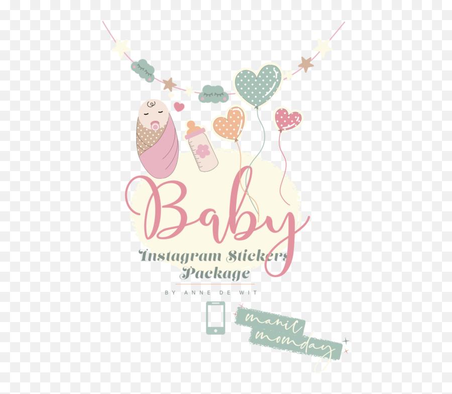 Baby Instagram Stickers Pack - Illustration Png,Instagram Heart Transparent